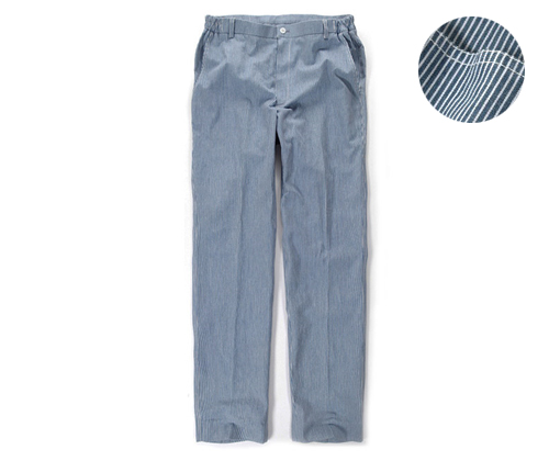 Blue Stripe Chef Pants #AP1302