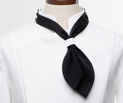 chef scarf black #AA1686
