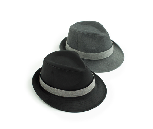 cotton fedora 2color #AH1736