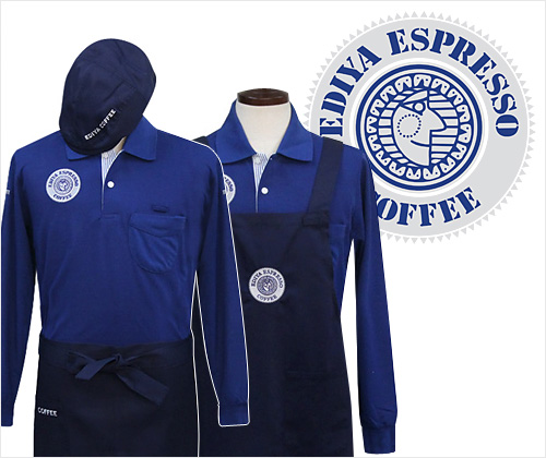 EDIYA COFFEE UNIFORM