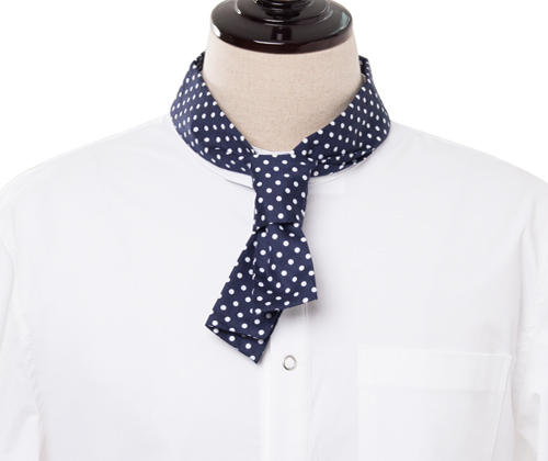 classic chef dot scarf #AA1786