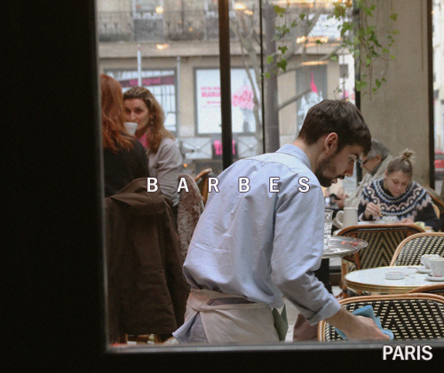 barbes -PARIS-