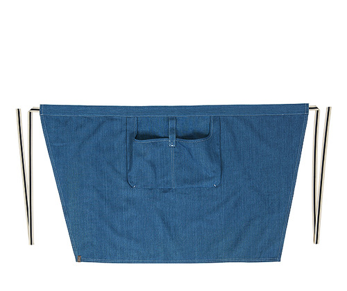Denim loose poket waist apron #AA1849