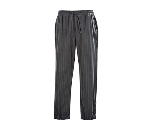 Joger stripe chef pants grey #AP1851 GY