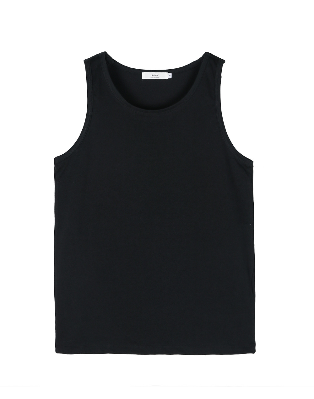 Cool Jersey chef sleevelss Black #AT1864