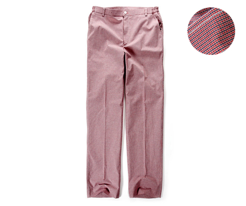 Red Check Working Pants #AP1303