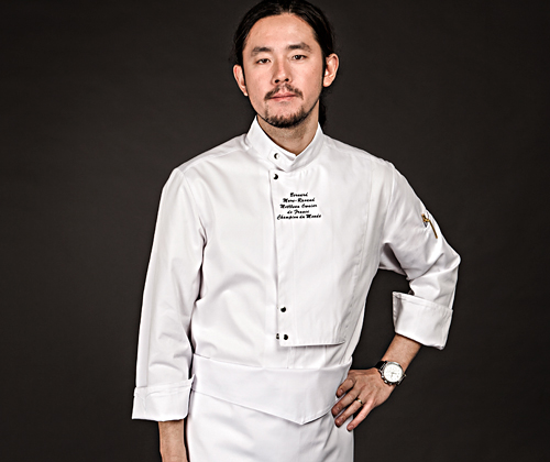 (AJ1642) the covering chef jacket- white