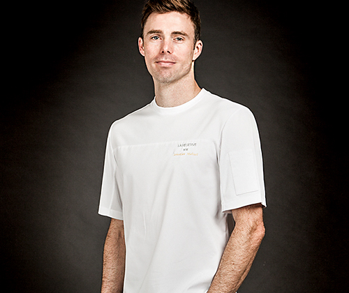 (AT1691) wind classic chef shirts - white