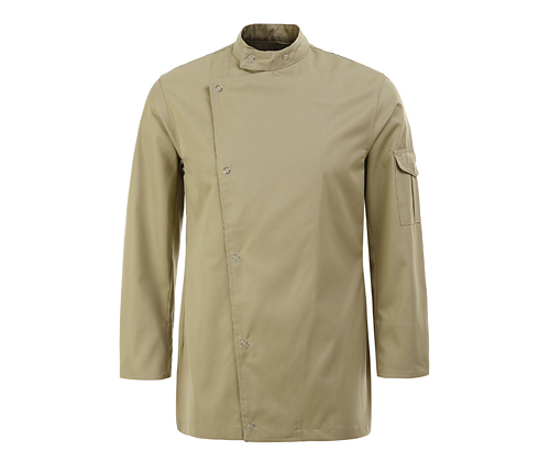 (AJ1304) classical chef jacket - beige