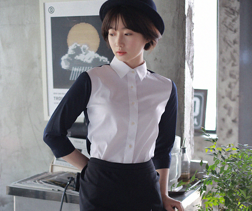Modern Shirts White #AS1541