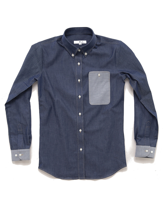 Washing Coating Denim Shirts #As1521
