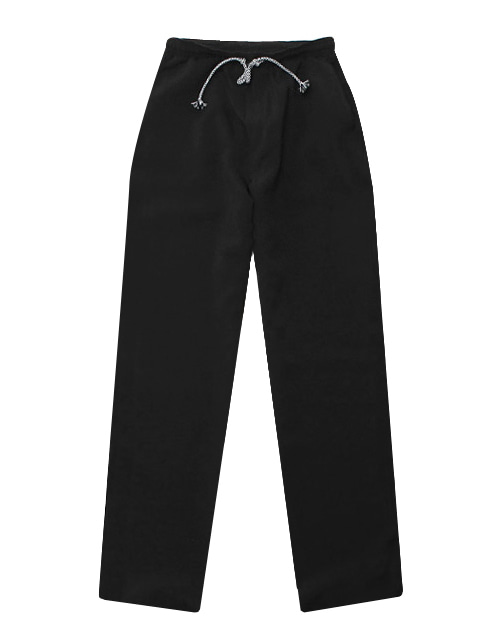 Linen Chef Pants Black #AP1565