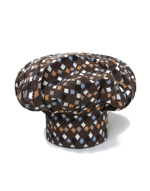 Chef Patch Star Hat #AH1598 Brown