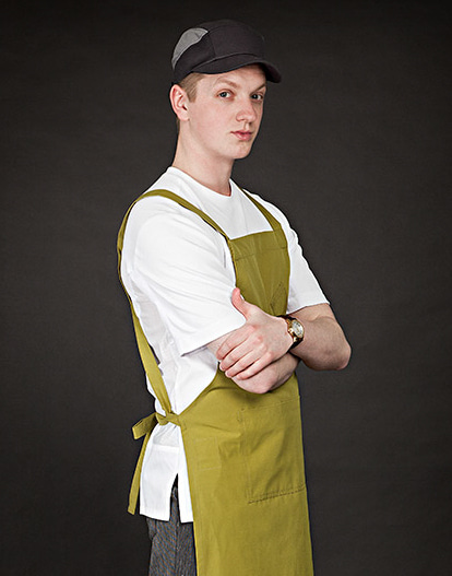 the side mesh chef hat black #AH1673