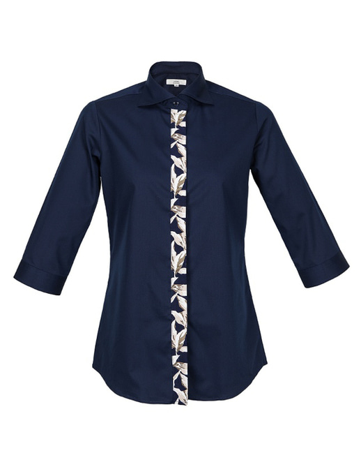 ader flowers navy shirts [NEW] #AS1745