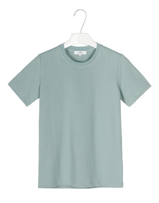 Basic cotton round 1/2tee #AT1863mint