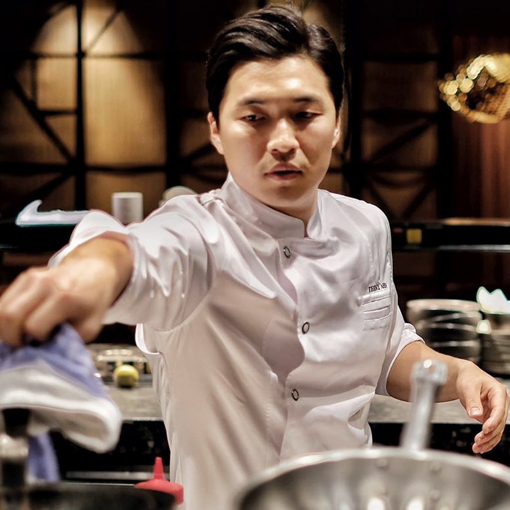 Chef. Terry Ahn -Mode Kitchen & Bar in Sydney-