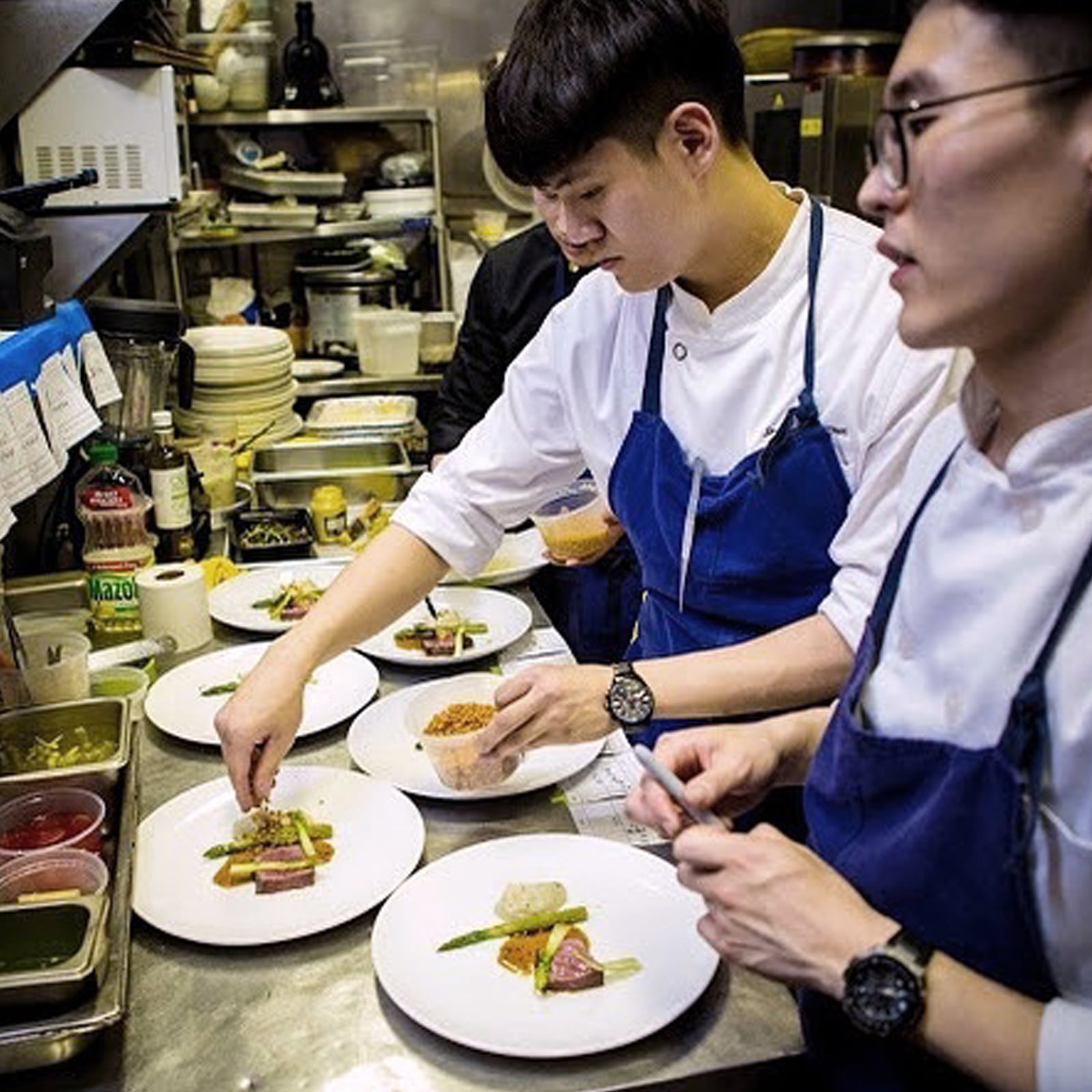 Chef. Choi Jeong Hun -The modern in New York-