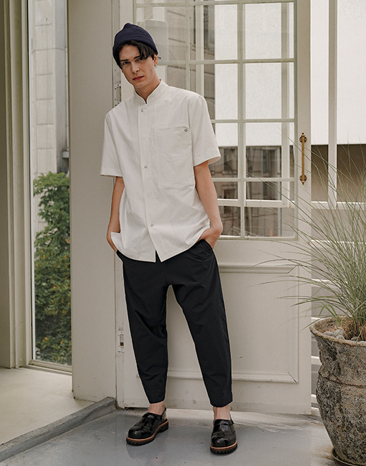 lamant stretch baggy chef pants #AP1970