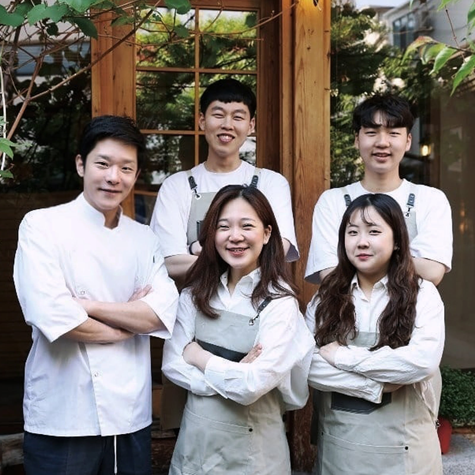 Chef. Lee Jae Hun -CA'DEL LUPO-