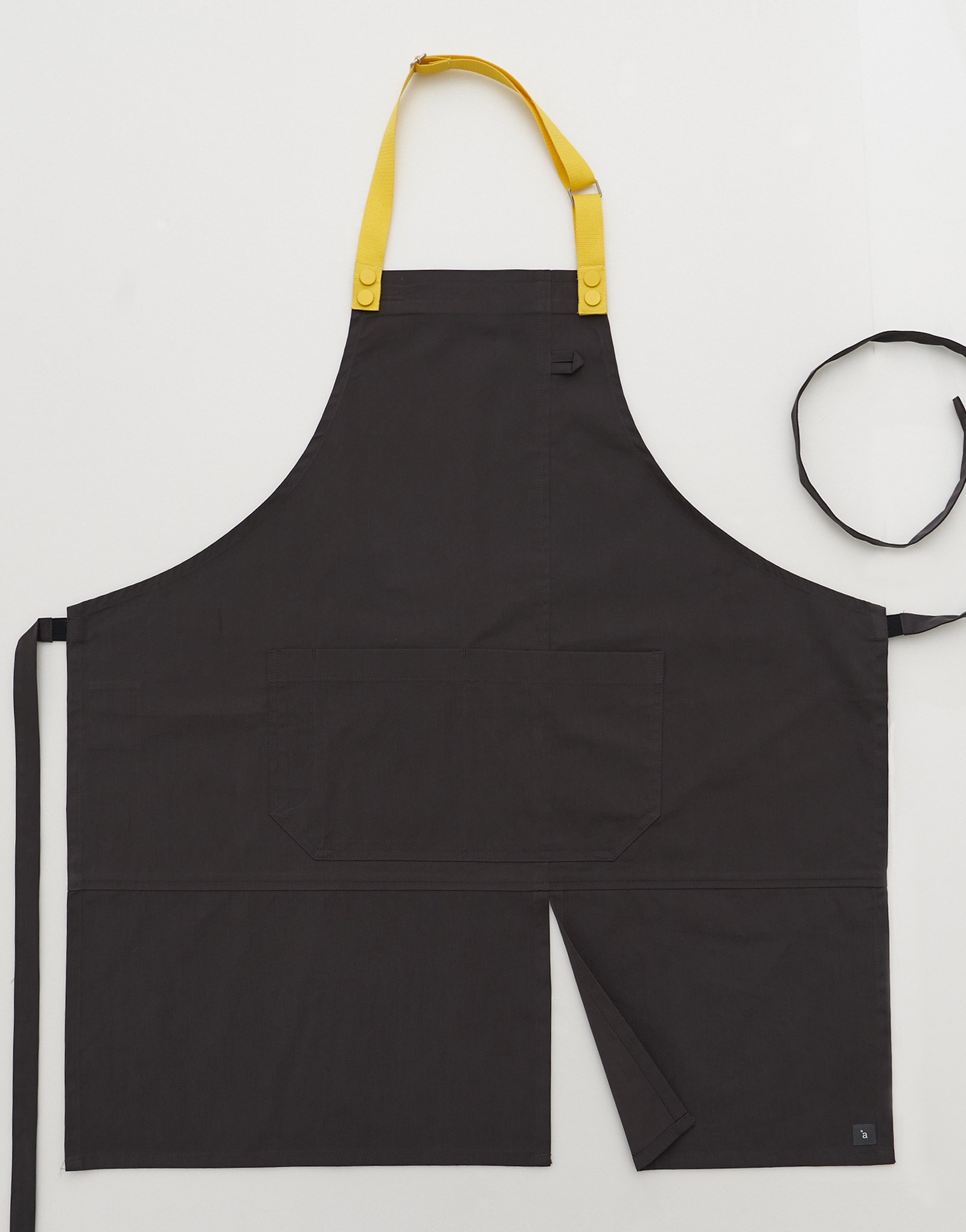 Lego strap change apron #AA1983 Dark grey
