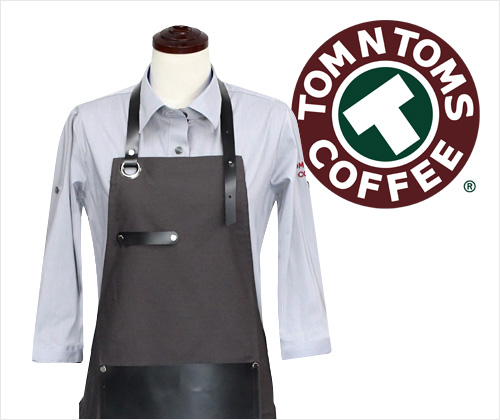 TOMNTOMS COFFEE UNIFORM