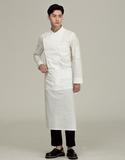 coverd relaxed chef apron #AA1914ow