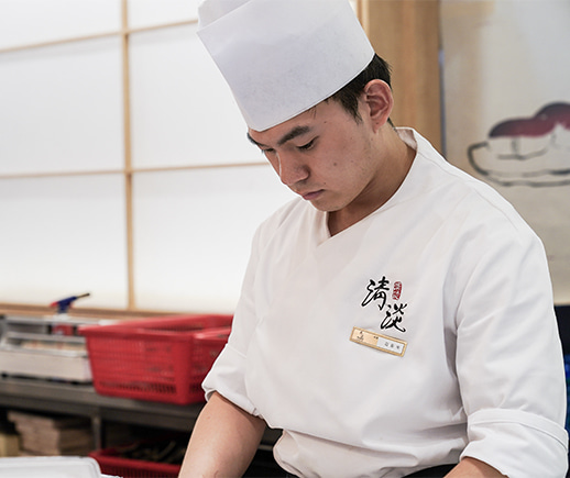 The harmonious mood makers with passion,Cheong-dam sushi, the Japanese cuisine.
